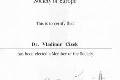 Certifikát CIRSE